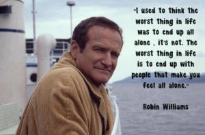robin williams and depression by AkwardStranger