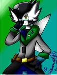 Colonel the gardevoir (Colonel gift ) by The-SilentNight