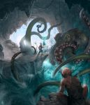 Cave octopus net by jybe44