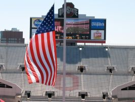 Flag7at Half-Mast for VT atOSU by WDWParksGal-Stock