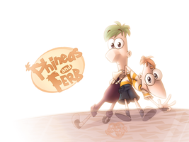Free PnF desktop background by kiki-kit