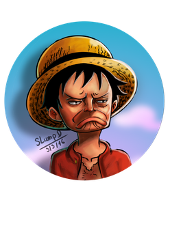Luffy not bad (cover OP chap 818) by slumpD