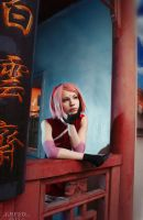 Sakura Haruno - Naruto The Last Movie by Seliverstova