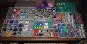 My dice collection by Animal-and-anime-lvr