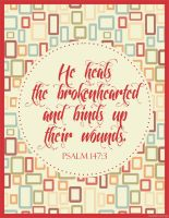 Psalm 147:3 by powerbuffy