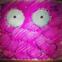 Napkin Art 132 - Why not Zoidberg? - Futurama by PeterParkerPA