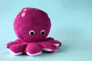 OLIVIA - cute pink octopus by FizziMizzi