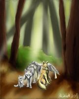 The pack by firedanceryote