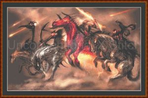 Four Horsemen of the Apocalypse Cross Stitch Kit by JodyS