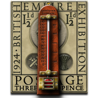 Steampunk Thermometer Icon MkII by yereverluvinuncleber