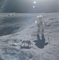 man on the moon by capitainrock2001