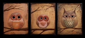 OwL fAMiLy by NellieWindmill