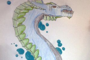 Toran, dragon of the water by Smam1234