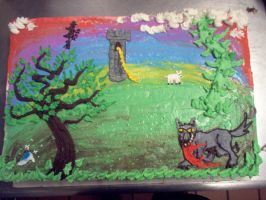 Into the Woods Cake by Starjuice