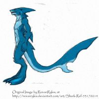 Shark Colored by Spidaur