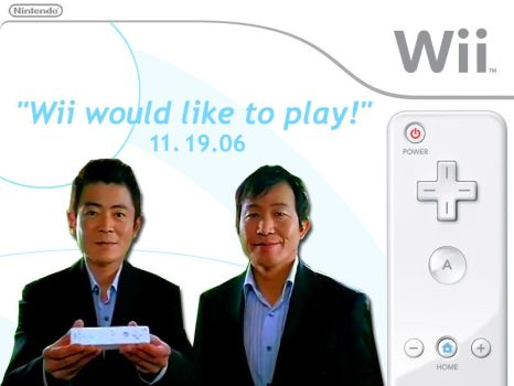 Wii would like to Play by halo2fast