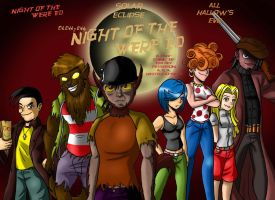 Night of the Were-Ed DVD Box by Chill8ter