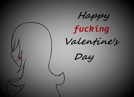Happy Valentine's Day from Toshiko by AdorableEvil29