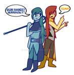 Collab- Gun hands?? by GamiGaming