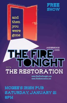 Fire Tonight: And Then She Was Gone --show poster by GaladrielStar