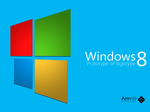 Windows 8: Prototype of logotype by Arm39