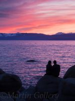 Sand Harbor sunset140411-90 by MartinGollery