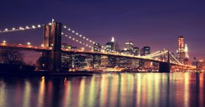 New York: Brooklyn Bridge. by inbrainstorm