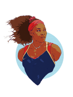 Serena Williams by wiremu