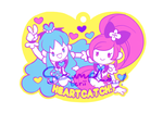 HeartCatch PreCure! Rubber Strap Design by star-firework