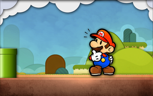 Super Mario Wallpaper by Kveldsvanger