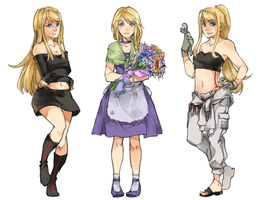 SC Winry by c-r-y-s