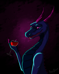 Blood is thicker than wine by Fallustoro