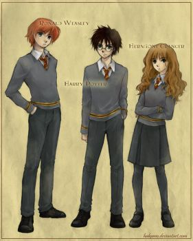 Harry Potter by hakumo