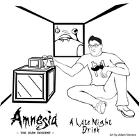 Markiplier: Amnesia A Late Night Drink by GamingNutz
