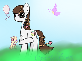 Me as a pony by CandyKitttyGoesMeow