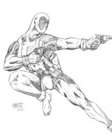 Deadpool Drawing by CorCruentus