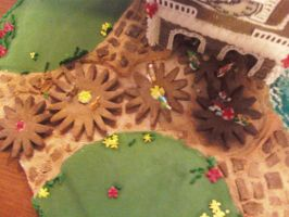Gingerbread Cuckoo Clock (aerial view) by recycledrapunzel