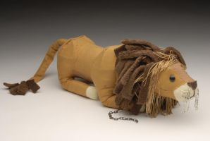 Wire/Fabric Lion by Darkaus