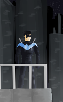 Nightwing by Meownimator