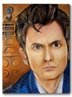 David Tennant - Doctor Who by RavenMedia