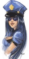 Officer Caitlyn by 7guineapig7