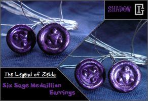 Zelda Medallion Earring Shadow by Riomy