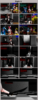 Five Nights With Slendy: Night 6 by MadNimrod
