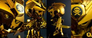 Bulletpunk X Robotars Custom Toy by Quiccs