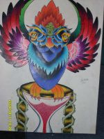 Gigantic Traditional Owl by Joshua-Rowlands