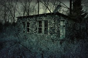 Creepy Shack by S-H-Photography