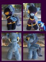 Shadowbolt Plushie by LordBoop