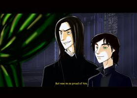 Fakeshot Al and Snape by Minos336