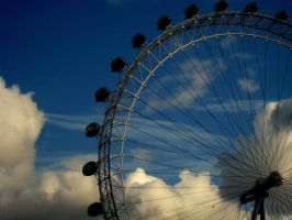 The amazing London eye by squishe