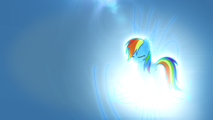 Rainbow Dash Wallpaper 1 by LugiPoni